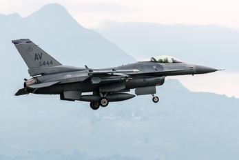 88-0444 - USA - Air Force General Dynamics F-16CG Night Falcon