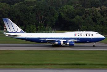 N171UA - United Airlines Boeing 747-400