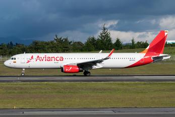 N747AV - Avianca Airbus A321