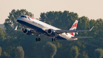 G-LCYO - British Airways - City Flyer Embraer ERJ-190 (190-100) aircraft