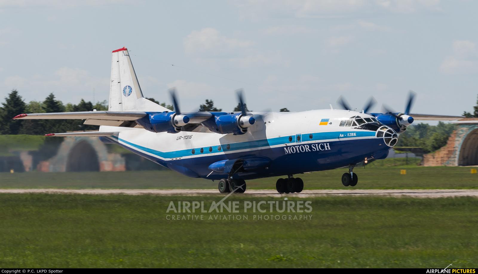 Motor Sich UR-11316 aircraft at Pardubice