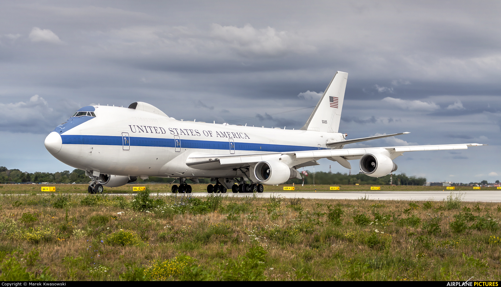 USA - Air Force 50125 aircraft at Warsaw - Frederic Chopin