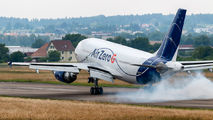Rare visit of Noverspace Zero G A310 to Dübendorf title=