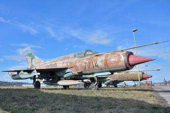 7714 - Slovakia -  Air Force Mikoyan-Gurevich MiG-21MF