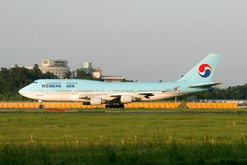 HL7483 - Korean Air Boeing 747-400