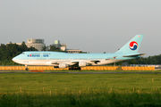 HL7483 - Korean Air Boeing 747-400 aircraft
