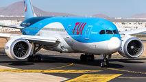 OO-JDL - TUI Airlines Belgium Boeing 787-8 Dreamliner aircraft