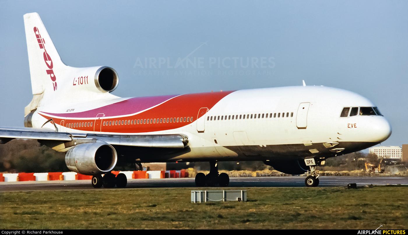 Air Ops SE-DPX aircraft at London - Gatwick
