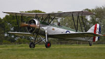 G-AHSA - The Shuttleworth Collection Avro 621 Tutor aircraft