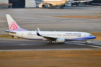 B-18662 - China Airlines Boeing 737-800