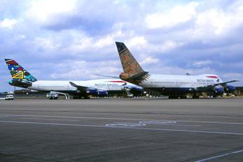 G-BDXO - British Airways Boeing 747-200