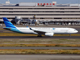 PK-GPY - Garuda Indonesia Airbus A330-300