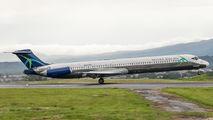 World Atlantic MD-83 at San Jose title=