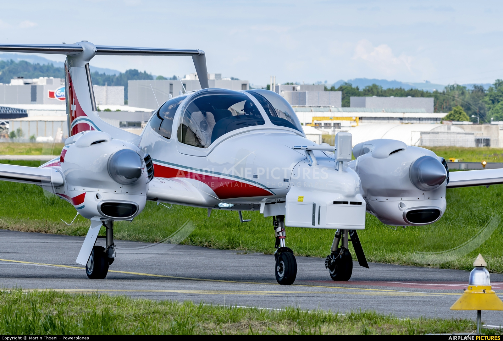 Switzerland - Air Force R-711 aircraft at Emmen