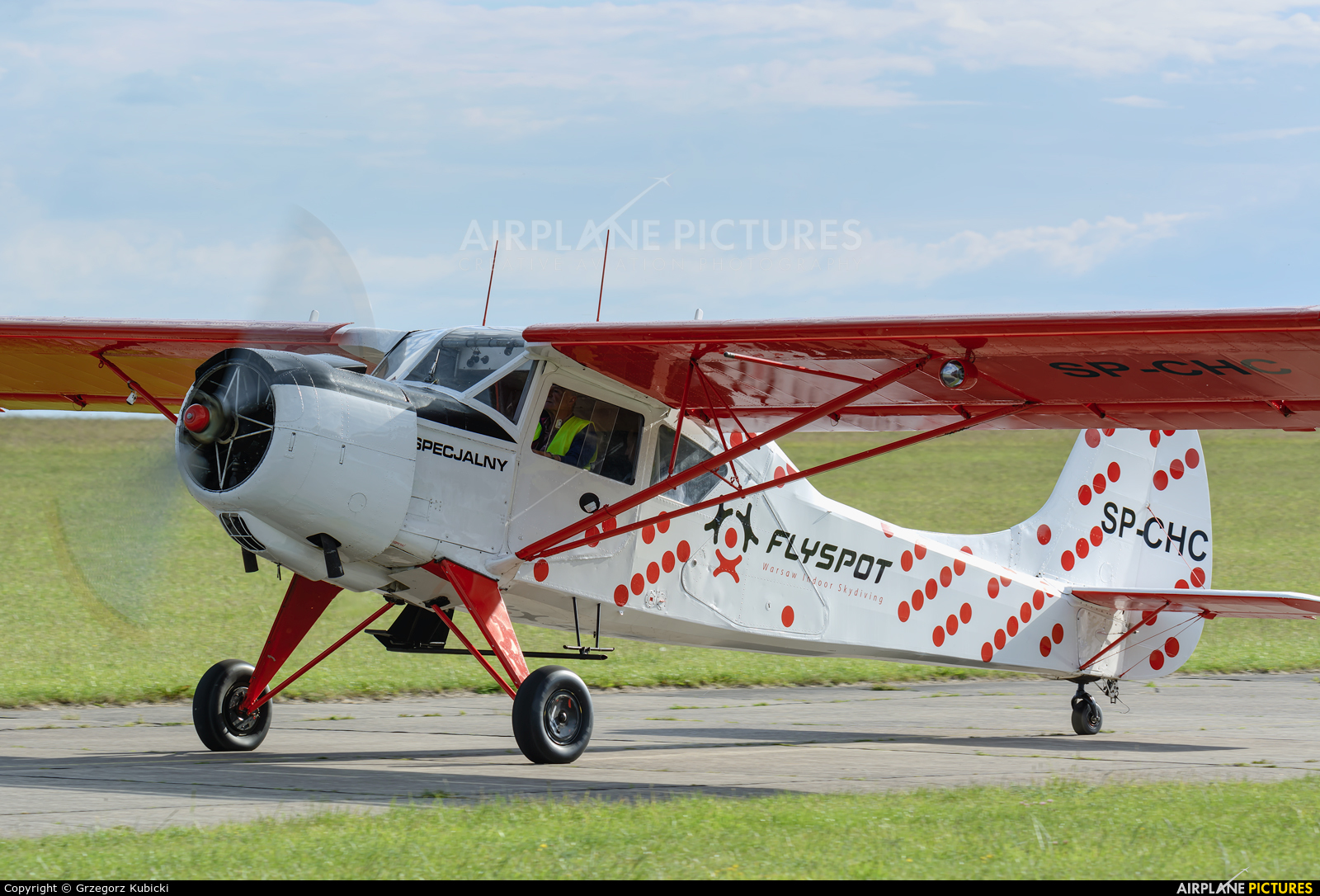 Private SP-CHC aircraft at Czestochowa - Rudniki
