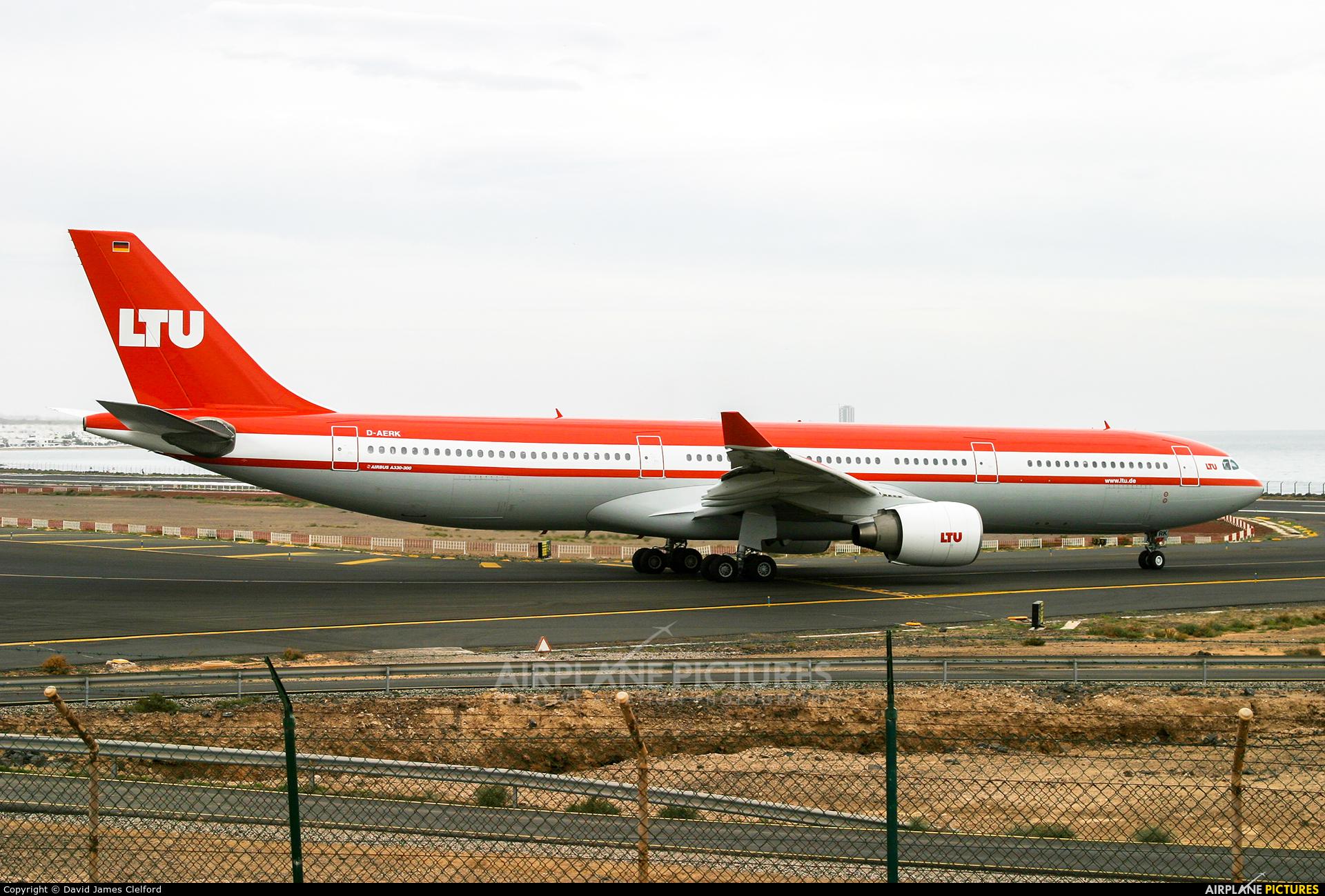 LTU D-AERK aircraft at Lanzarote - Arrecife