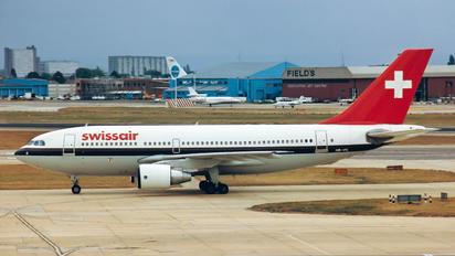 HB-IPE - Swissair Airbus A310