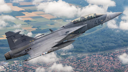 44 - Hungary - Air Force SAAB JAS 39D Gripen