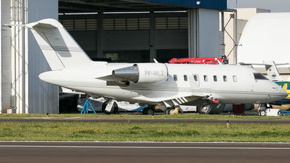 PP-MLZ - Private Bombardier Challenger 600