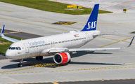 SE-ROD - SAS - Scandinavian Airlines Airbus A320 NEO aircraft