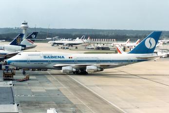 OO-SGC - Sabena Boeing 747-300