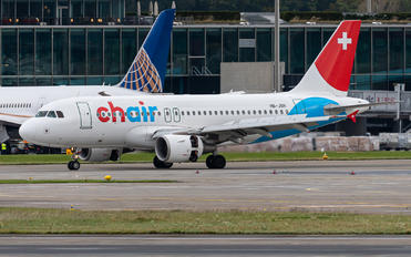 HB-JOH - Chair Airlines Airbus A319