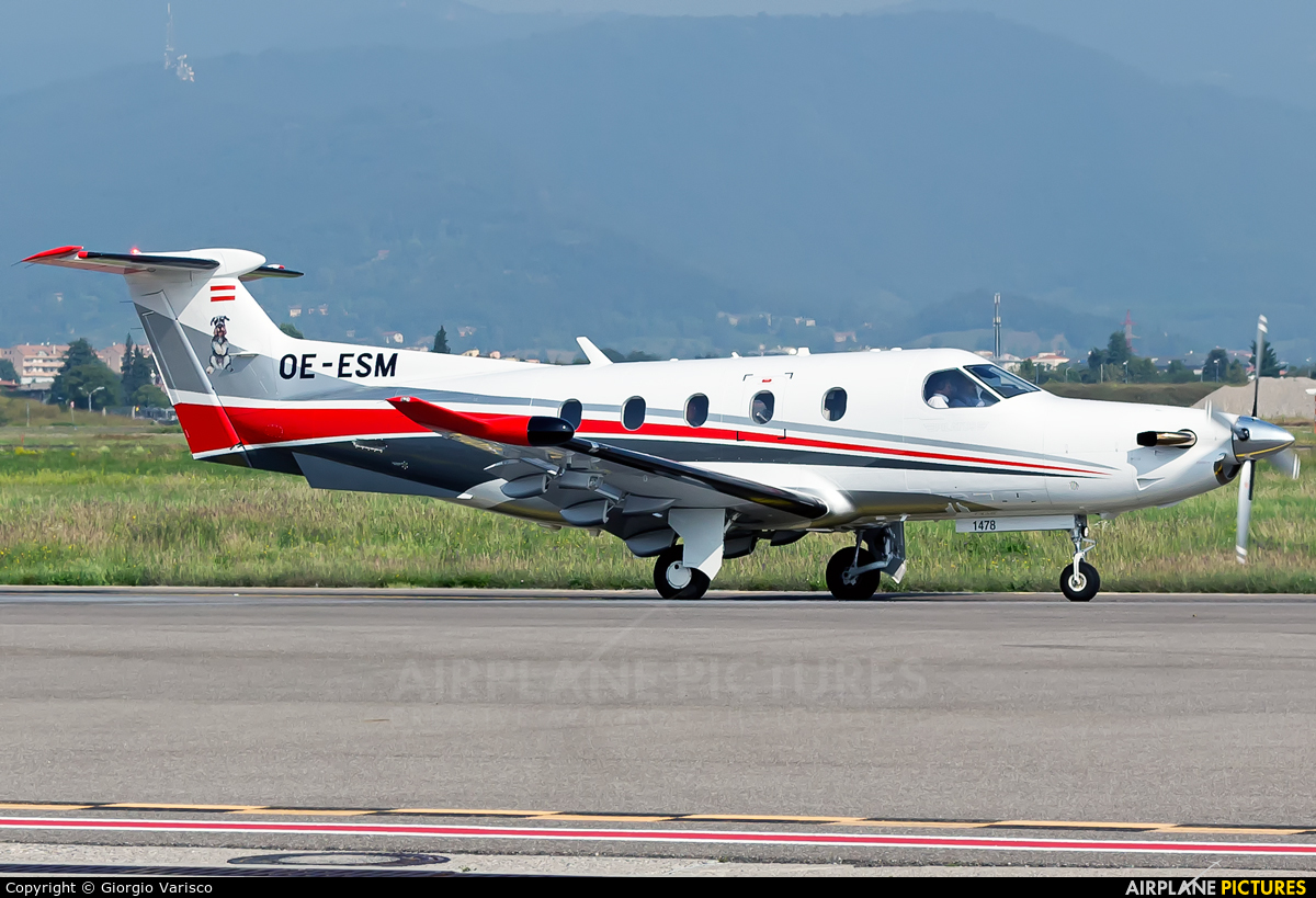 Private OE-ESM aircraft at Bergamo - Orio al Serio