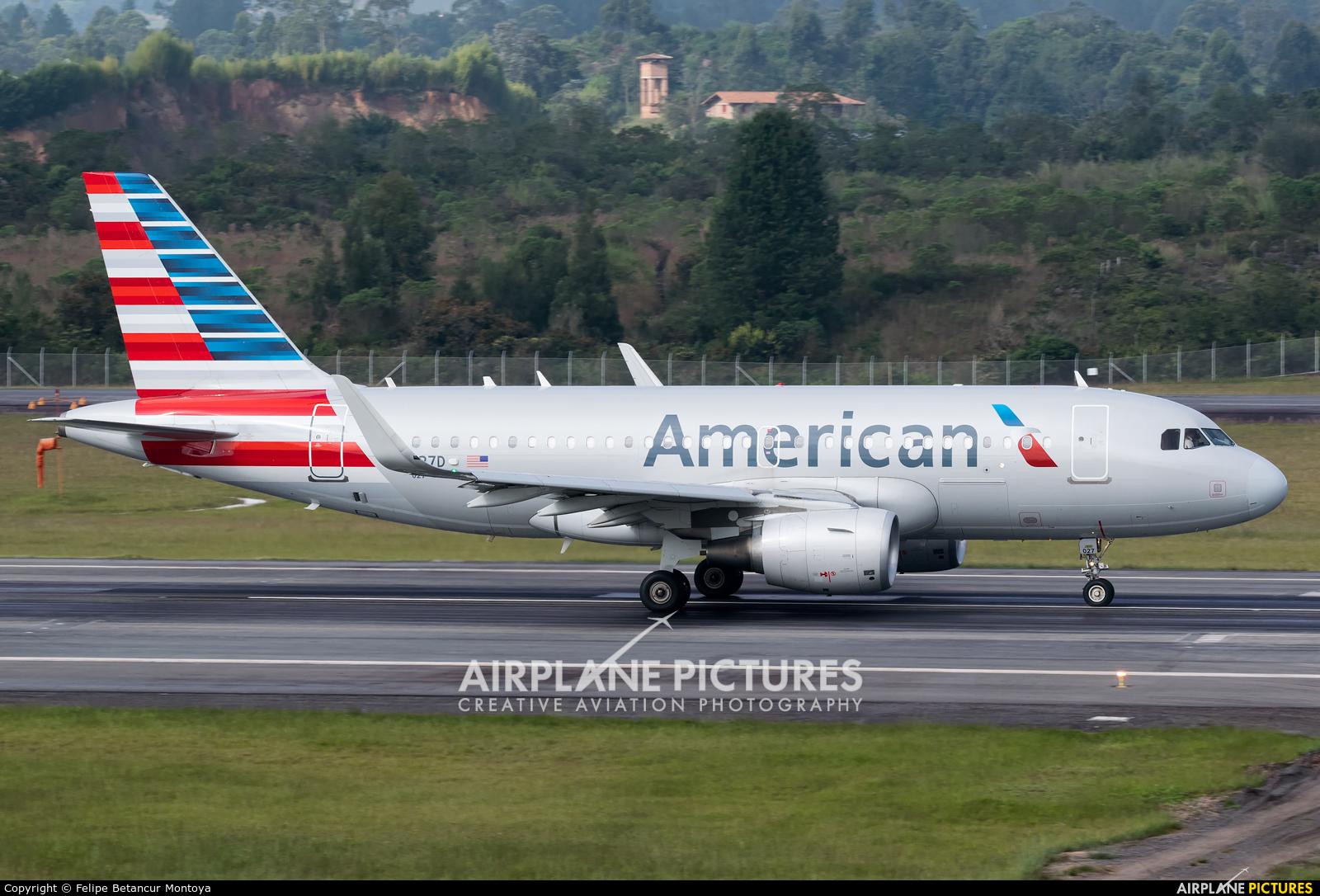 American Airlines N8027D aircraft at Medellin - Jose Maria Cordova Intl