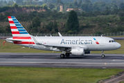 N8027D - American Airlines Airbus A319 aircraft
