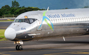 N801WA - World Atlantic Airways McDonnell Douglas MD-83