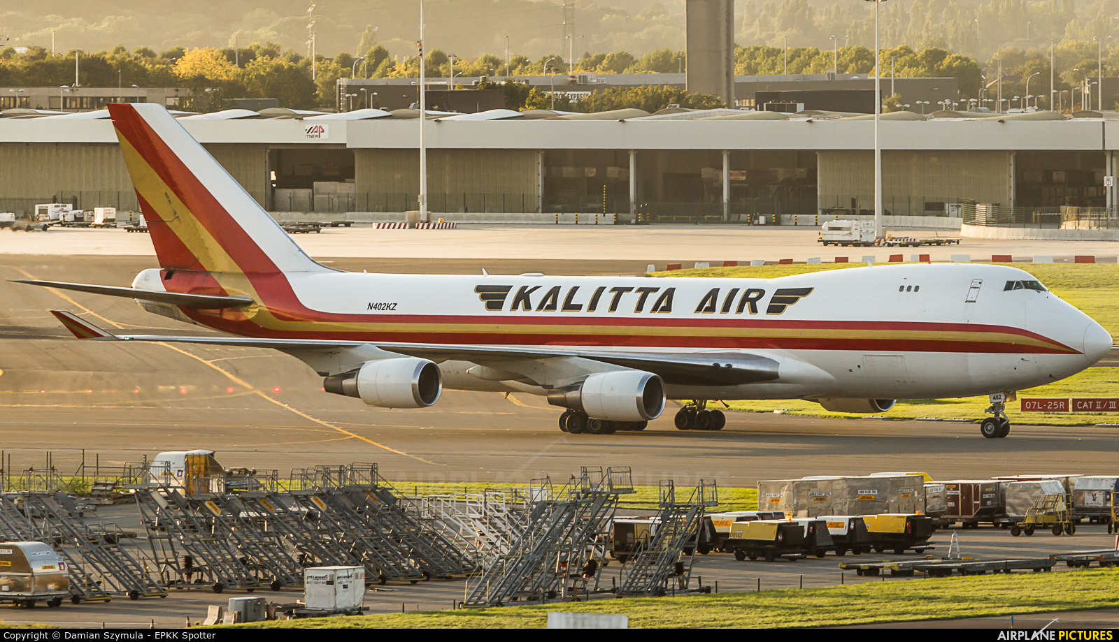 Kalitta Air N402KZ aircraft at Brussels - Zaventem