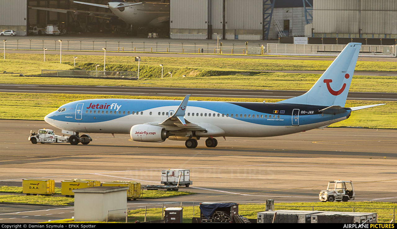 Jetairfly (TUI Airlines Belgium) OO-JAV aircraft at Brussels - Zaventem