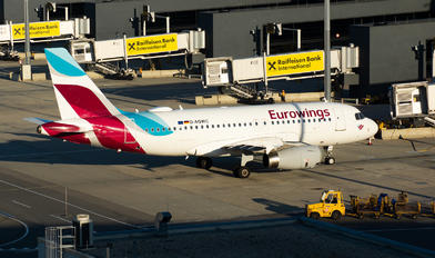 D-AGWC - Eurowings Airbus A319