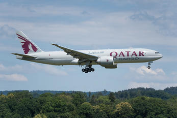 A7-BFH - Qatar Airways Cargo Boeing 777F