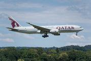 Qatar Cargo Boeing 777F visited Zurich title=
