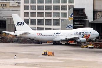 N517MC - SAS - Scandinavian Airlines Boeing 747-200