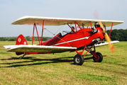 NC724V - Early Birds at Schaffen airfield Brewster Fleet 7 aircraft