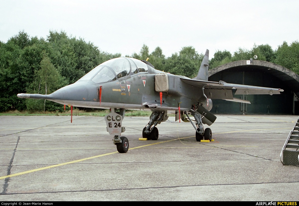 France - Air Force E24 aircraft at Kleine Brogel