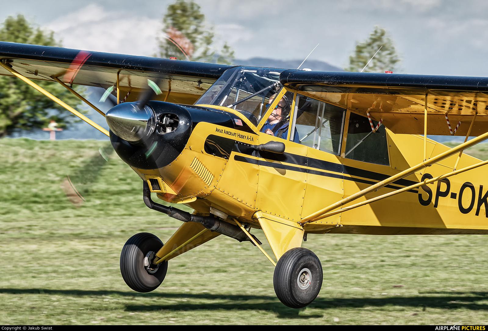 Aeroklub Nowy Targ SP-OKO aircraft at Nowy Targ Airport