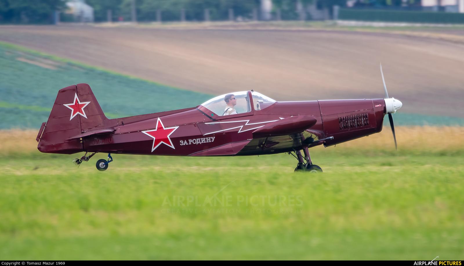 Private OM-ARU aircraft at Kraków - Pobiednik Wielki
