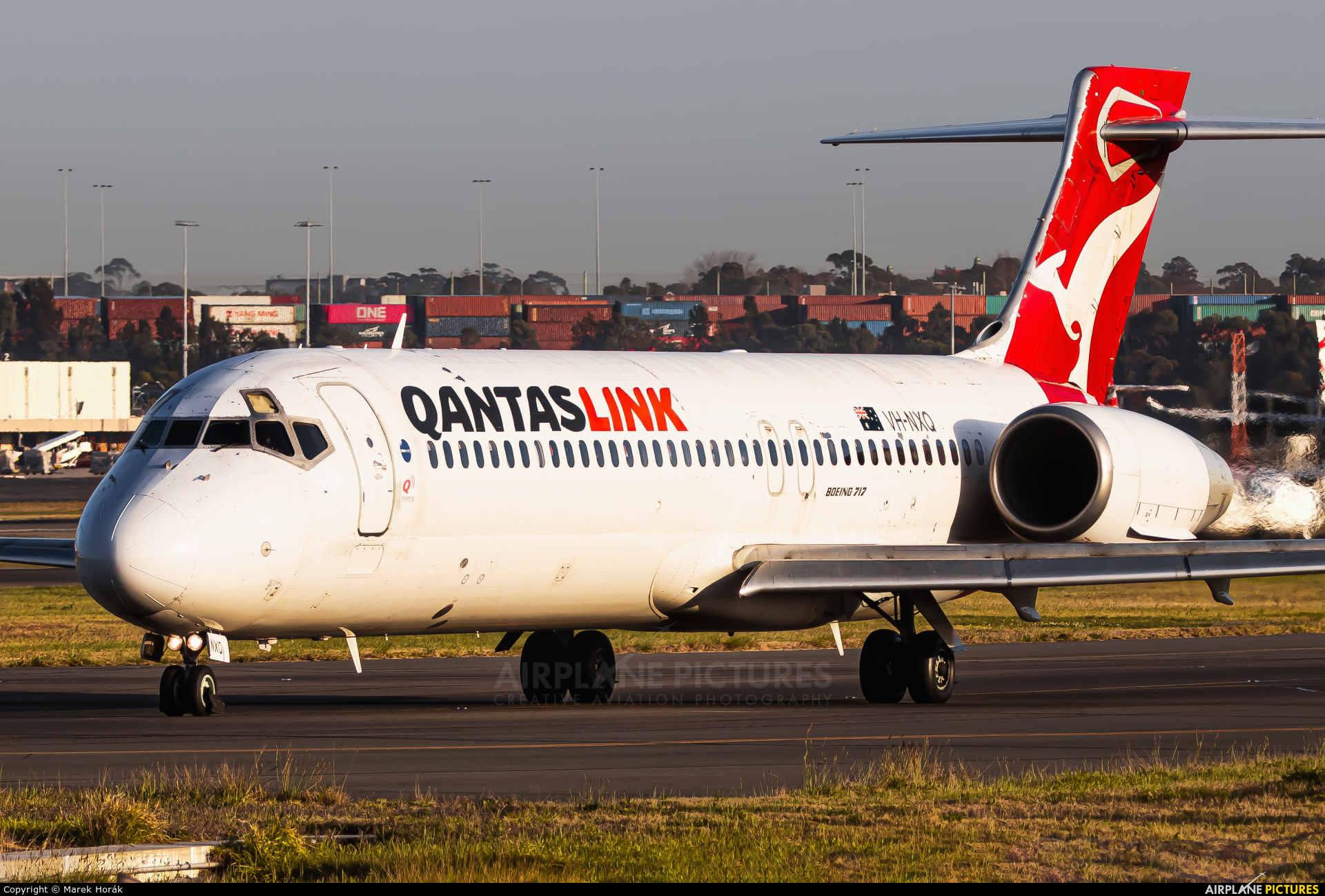 QANTAS VH-NXQ aircraft at Sydney - Kingsford Smith Intl, NSW