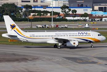 LZ-BHG - Myanmar Airways International Airbus A320