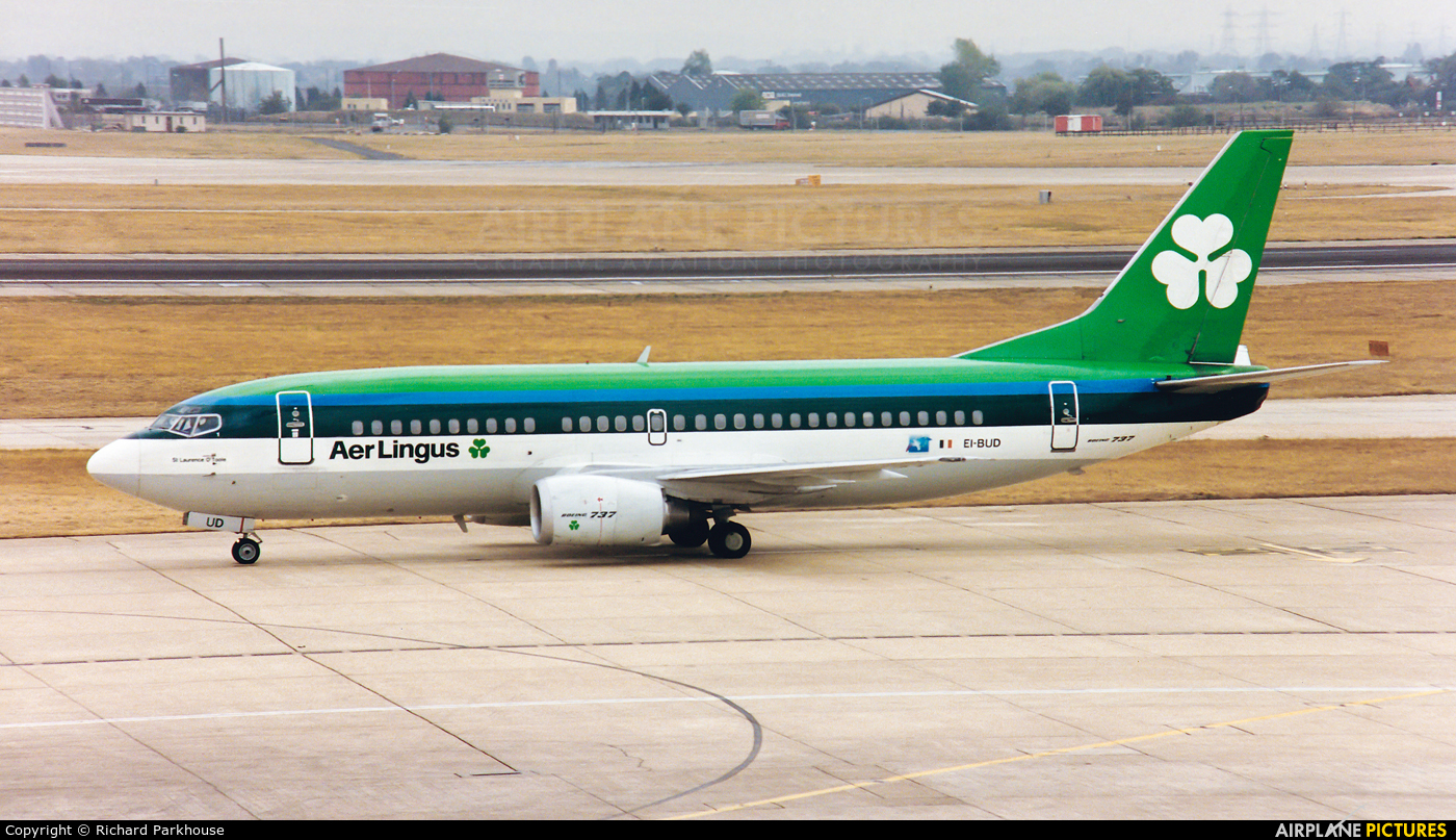 Aer Lingus EI-BUD aircraft at London - Heathrow