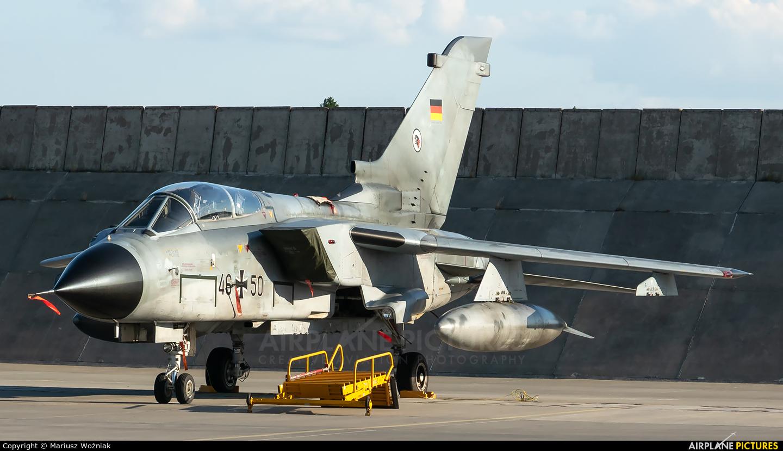 Germany - Air Force 46+50 aircraft at Poznań - Krzesiny
