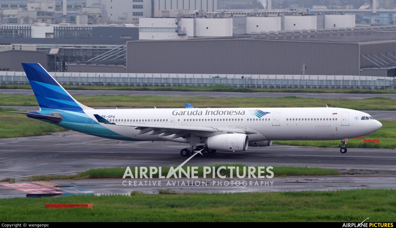 Garuda Indonesia PK-GPA aircraft at Tokyo - Haneda Intl
