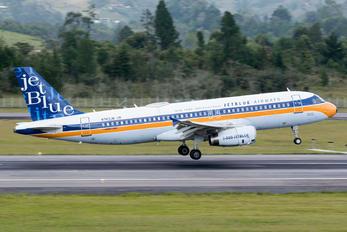 N763JB - JetBlue Airways Airbus A320