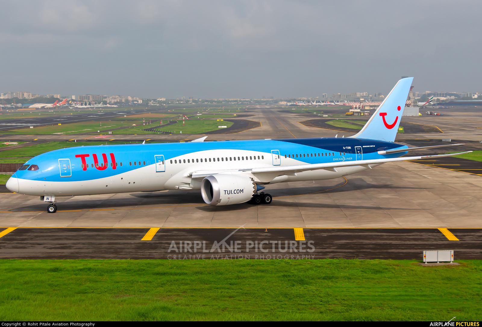 TUI Airways G-TUIN aircraft at Mumbai - Chhatrapati Shivaji Intl