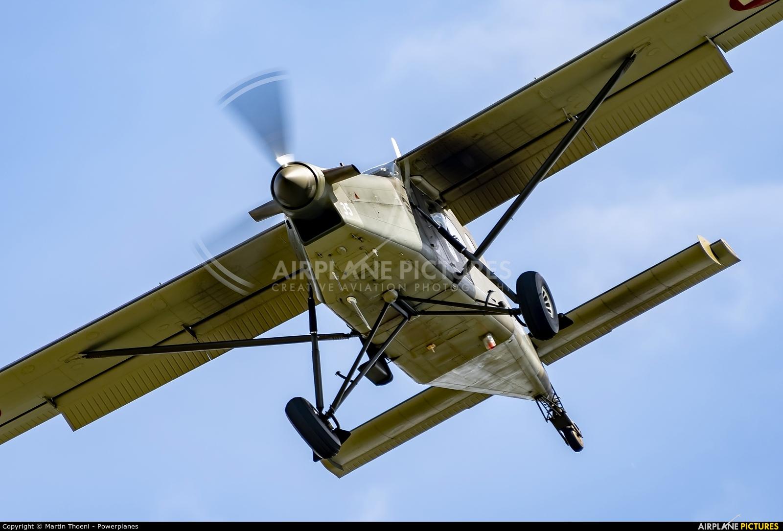 Switzerland - Air Force V-635 aircraft at Emmen