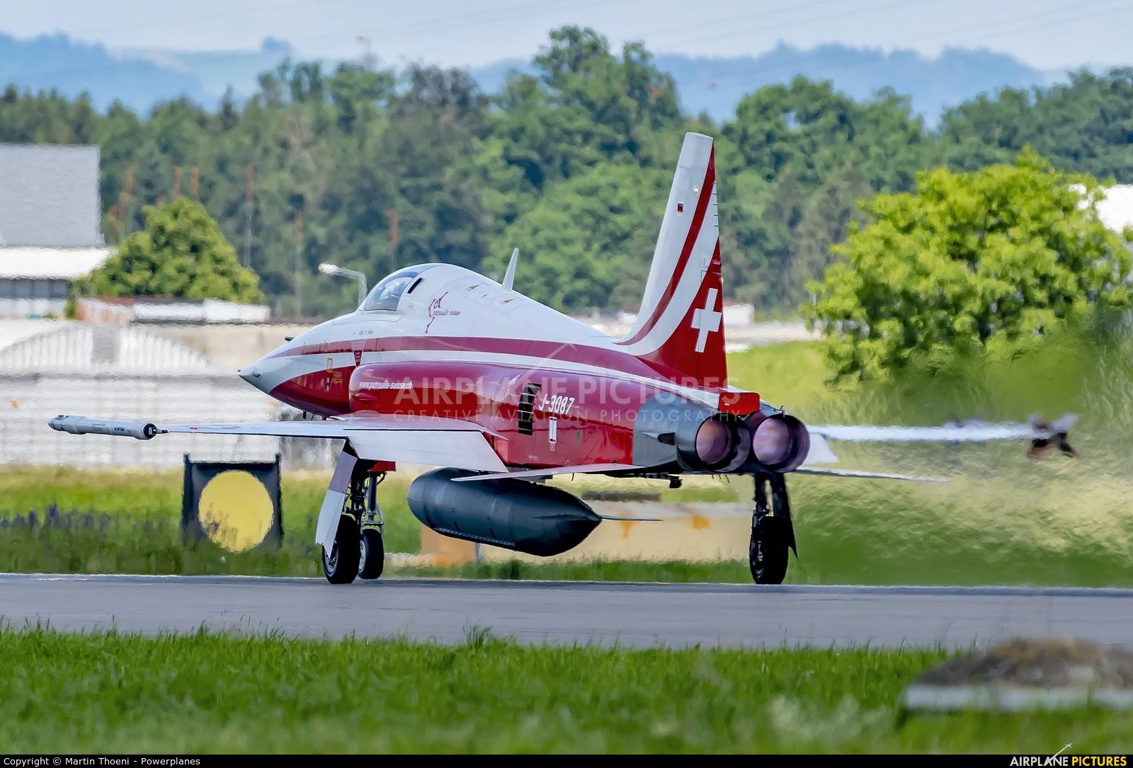 Switzerland - Air Force J-3087 aircraft at Emmen