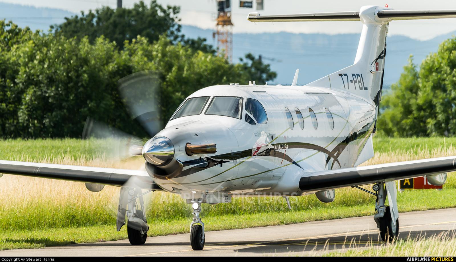 FLY 7 Executive Aviation SA T7-PBL aircraft at Lausanne - La Blécherette